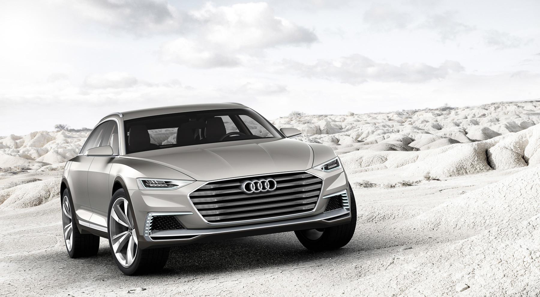 Новый внедорожный универсал Audi: фото и информация