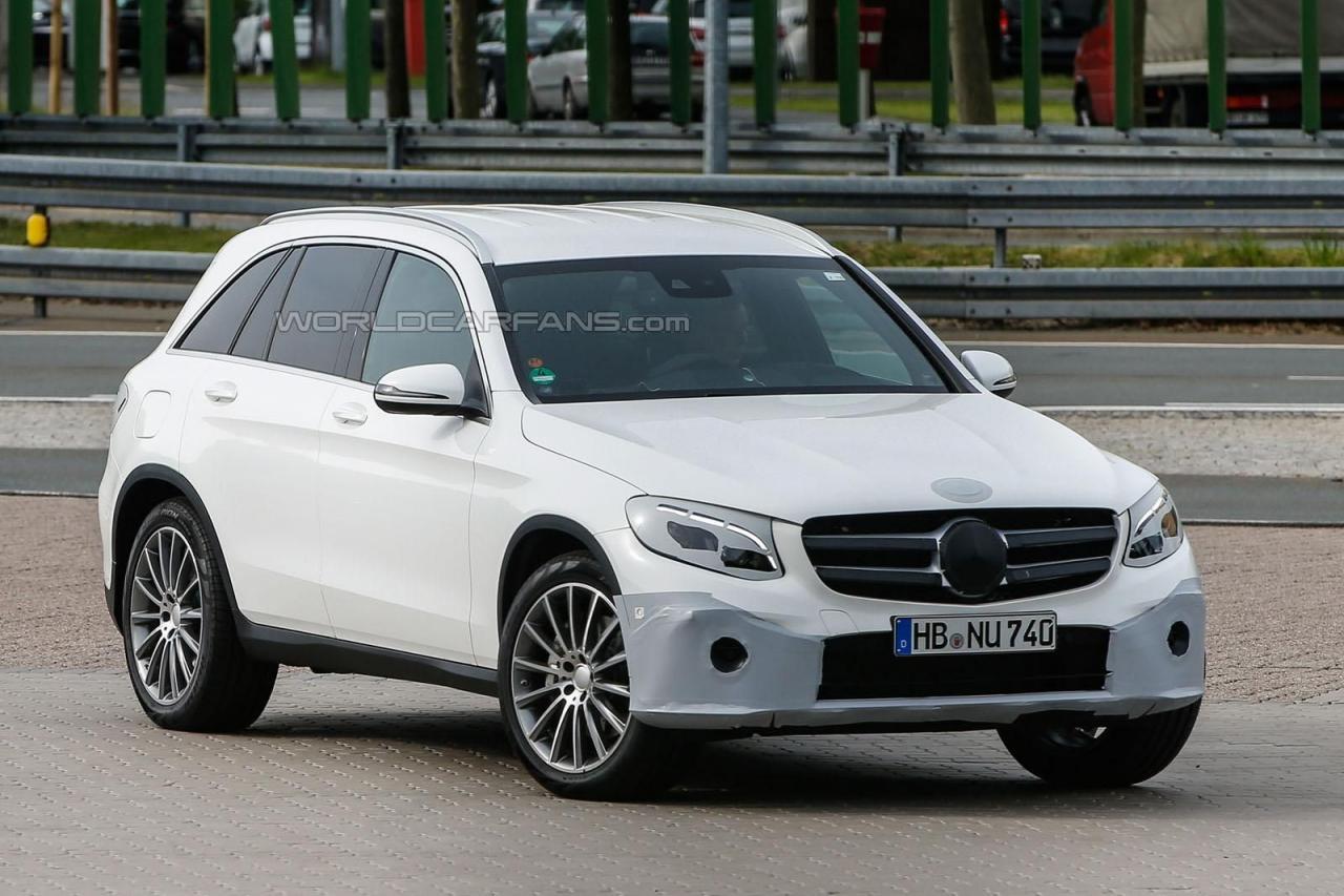 Новый кроссовер Mercedes GLC: он будет таким