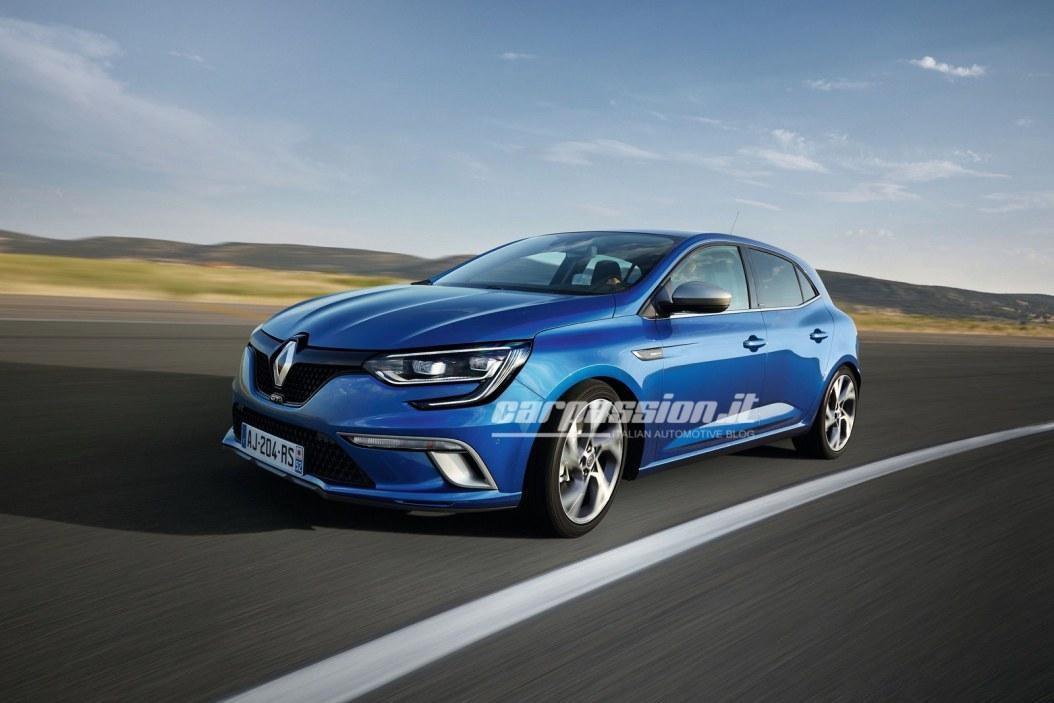 Новый Renault Megane: опубликованы официальные фото