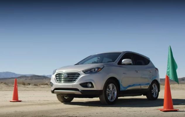 Водородный Hyundai Tucson установил рекорд скорости. Видео