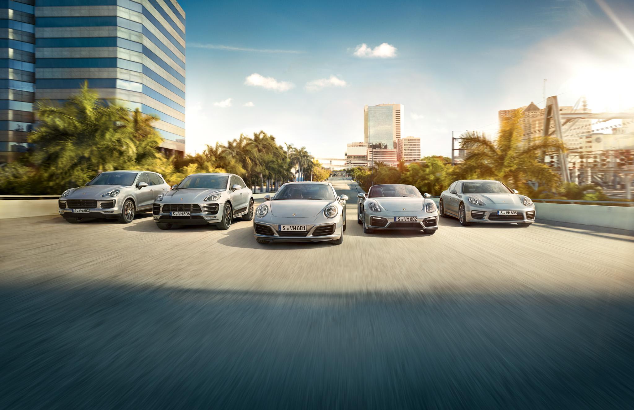 Porsche noyabr ayında yeni rekorda imza atıldı