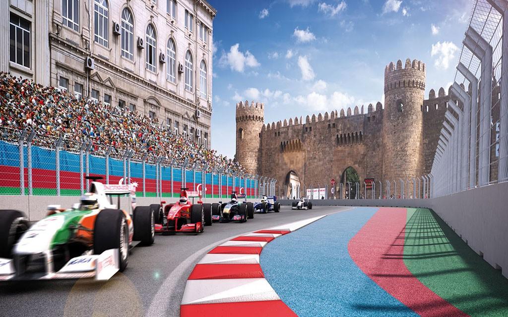 Infiniti-Renault Alyansının F1 komandası Bakıya böyük iddialarla gəlir