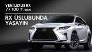 Yay səyahəti üçün etibarlı yol yoldaşı - Lexus RX krossoveri