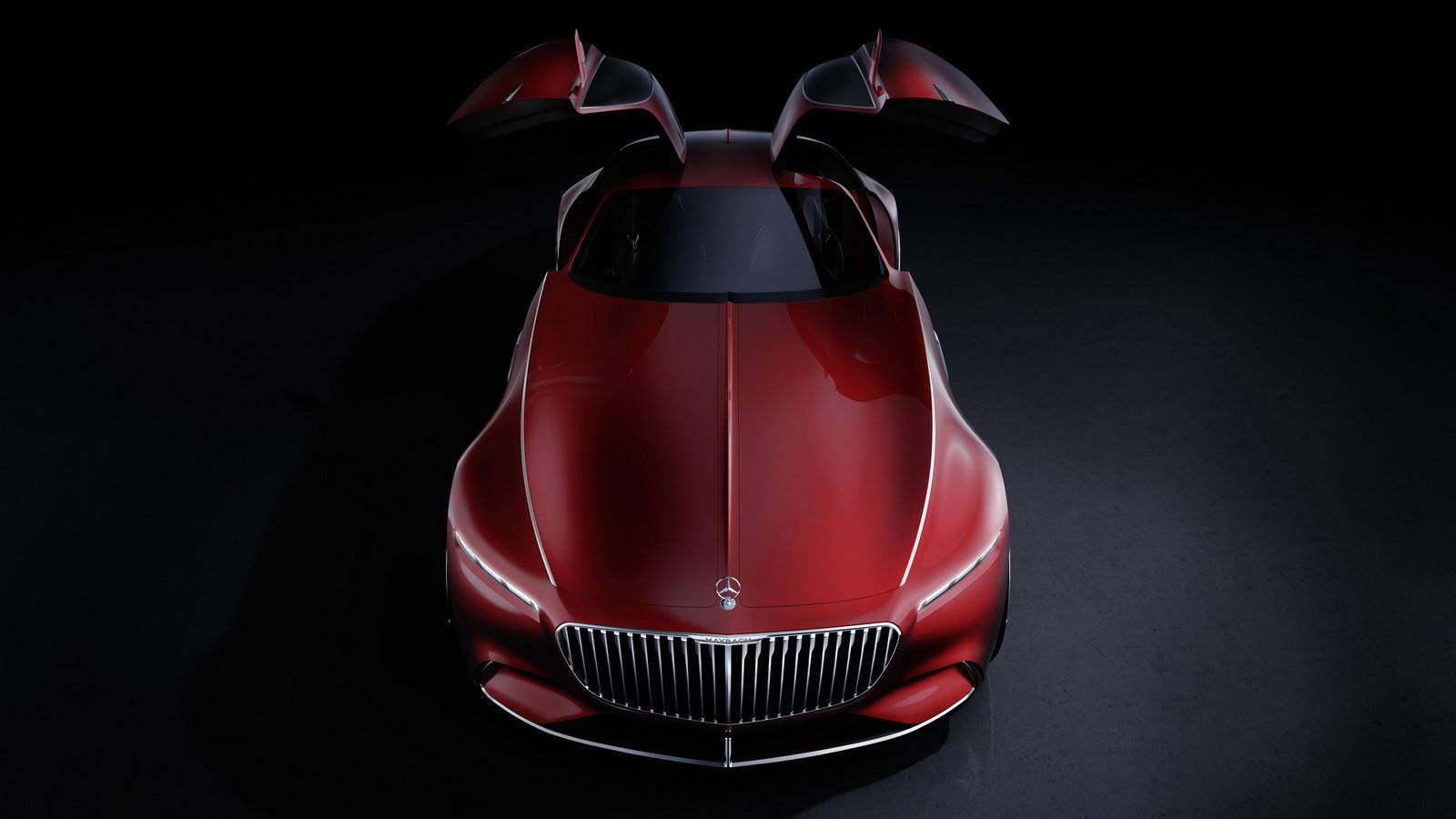 Мега-купе Mercedes-Maybach представили официально