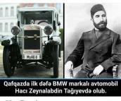 Hacı Zeynalabdin Tağıyev BMW-si..
