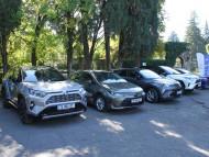 Caucasus triumph of Toyota Hybrid! PHOTO